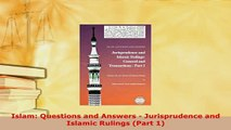 Download  Islam Questions and Answers  Jurisprudence and Islamic Rulings Part 1 Free Books