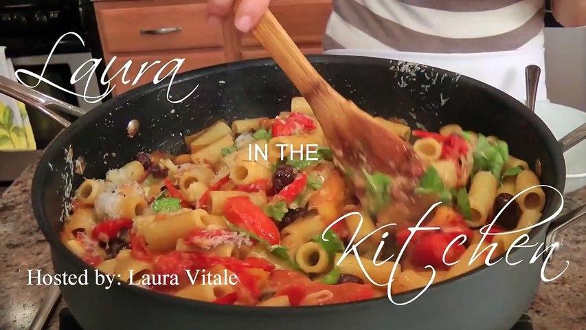 Homemade Polenta Recipe Laura Vitale Laura In The Kitchen Episode
