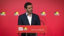 """Projet de loi """"égalité et citoyenneté"""", le Parti socialiste mobilisé - Point presse Razzy Hammadi lundi 18 avril"""