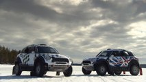 MINI ALL4 Racing Ice Experience 2016 - Design and Driving Video