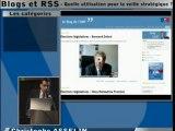 Blogs et RSS pour votre veille stratégique