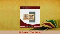 Download  El Coran  The Coran  Read Online