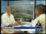 Primeras evaluaciones a viviendas en Guayaquil