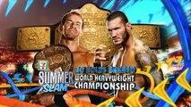 Christian vs Randy Orton - No Holds Barred - WH Championship - SummerSlam 2011