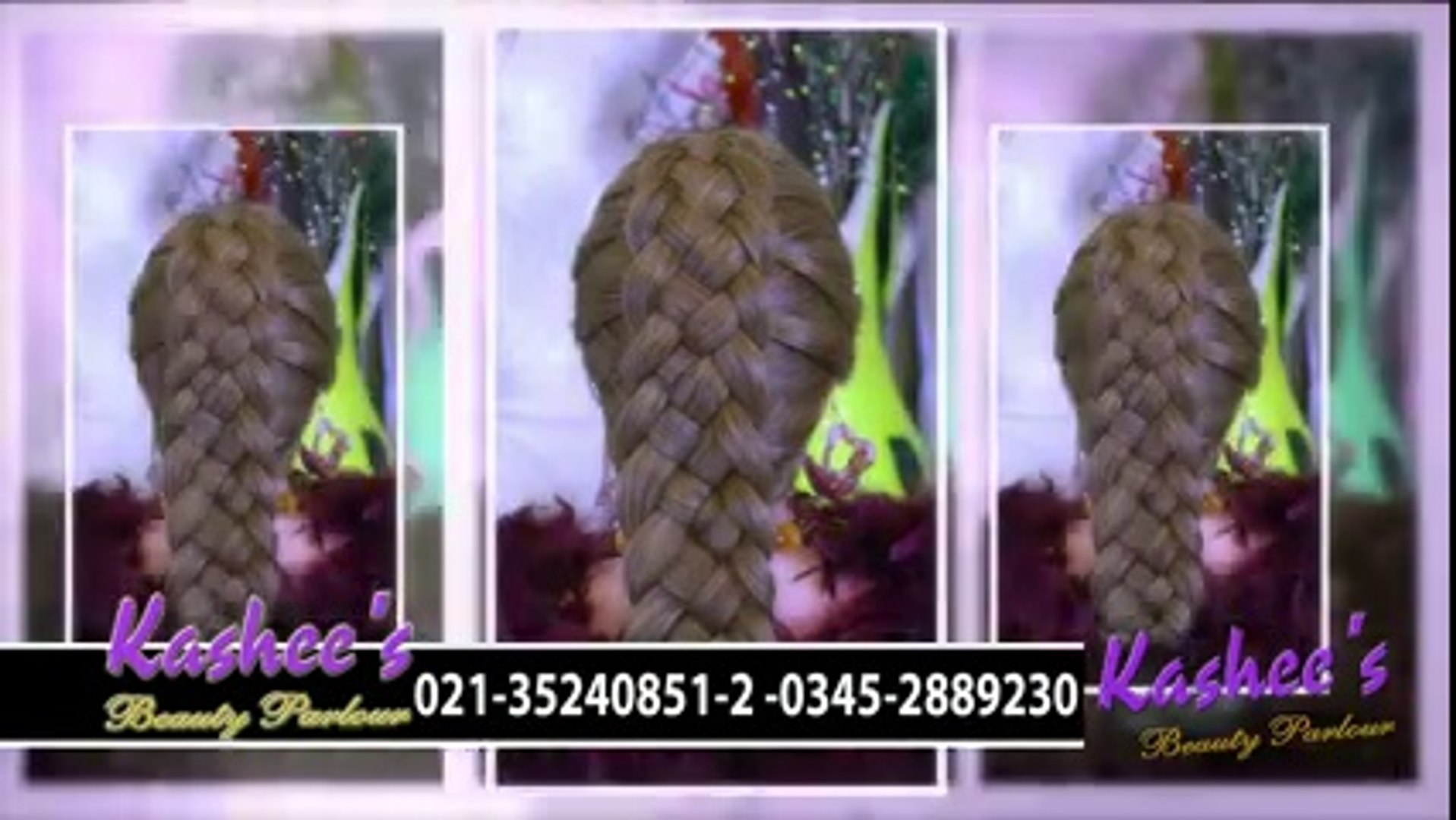 Kashees Beauty Parlor S Most Astonishing Hair Styling Video Dailymotion