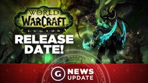 World of Warcraft Legion Expansion Release Date! - GS News Update