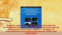 Download  Estudio sobre las normas internacionales de contabilidad NIC y las normas Ebook Free