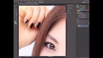 How to change Hair Color in Adobe Photoshop Cs6 Tutorial