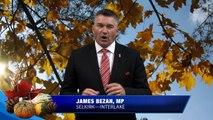 Happy Thanksgiving from MP James Bezan