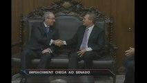 Processo de impeachment de Dilma chega ao Senado