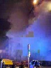 Incendie mortel dans un immeuble de Brive, énorme panache de fumée