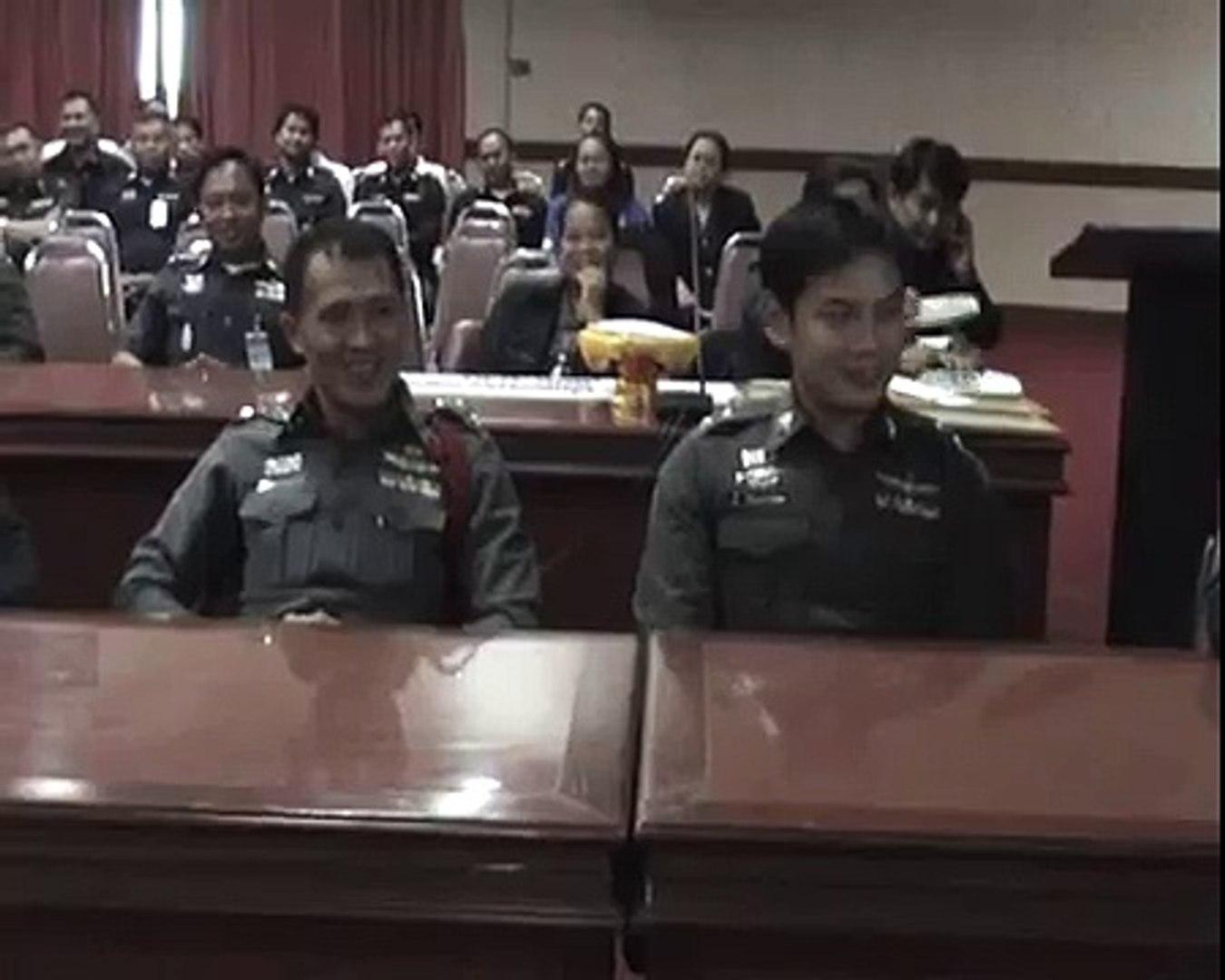 Certificate Presentation to Police 【PATTAYA PEOPLE MEDIA GROUP】 PATTAYA PEOPLE MEDIA GROUP