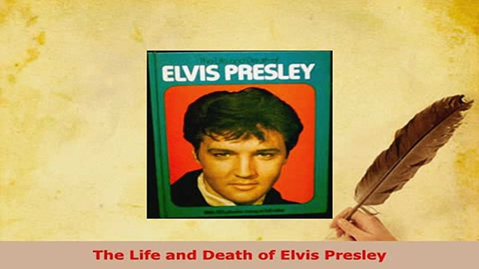 Download  The Life and Death of Elvis Presley Ebook