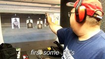 Tim and David at the range, M&P 9mm Storm Lake Barrel, Beretta Inox 9mm