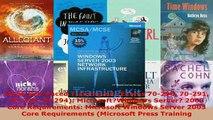 PDF  MCSE SelfPaced Training Kit Exams 70290 70291 70293 70294 MicrosoftWindows Download Online