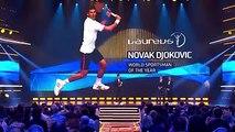 Laureus World Sports Awards 2016 - Novak Djokovic récompensé à Berlin et préféré à Usain Bolt et Lionel Messi