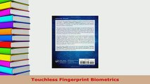 Download Touchless Fingerprint Biometrics PDF Free - video