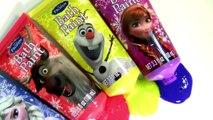 Pig George & Peppa Pig Muddy Puddles Bathtime with Disney Frozen Bath Paint Anna Elsa Bath