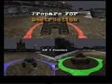 WDL Thunder Tanks Gameplay PS2 Playstation  (www.chilloutgames.co.uk)