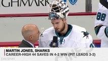 Martin Jones Saves Sharks in Game 5