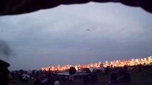 """B-17 """"bomb run"""" at EAA AirVenture Oshkosh 2010"""