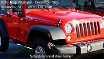 2016 Jeep Wrangler 4WD 2dr Sport for sale in Columbia, SC 29
