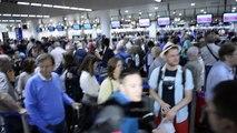 La vidéo des longues files après la coupure de courant à Brussels Airport