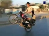 Bike Wheeling _ Wheeling Pakistan _ Sami 302 pindi bike wheeling