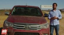 2016 Toyota Hilux [ESSAI] : pour nous, les hommes
