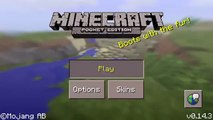 Mcpe 0.14.3 - how to make a tnt cannon from the minecraft combat handbook