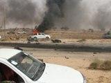 Libye: le fief des jihadistes de l'EI cible de l'artillerie lourde