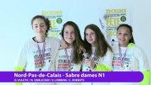 Nord Pas de Calais, vainqueur sabre dames par équipe #fdjescrime 2016