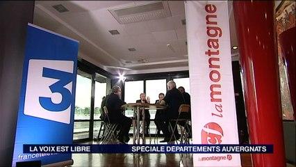 """La Voix est Libre : """"La parole aux présidents des départements auvergnats"""" [Extrait 2]"""