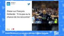 Zlatan Ibrahimovic - 'Je peux rendre Hollande populaire si je veux'