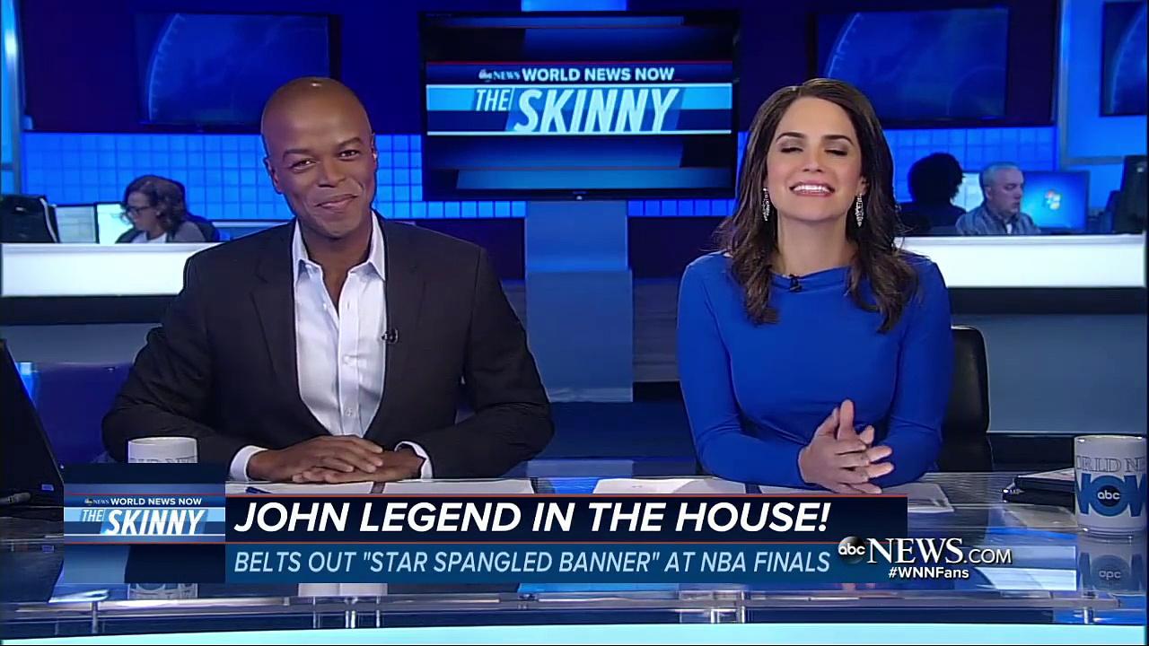 John Legend Performs at NBA Finals | ABC News