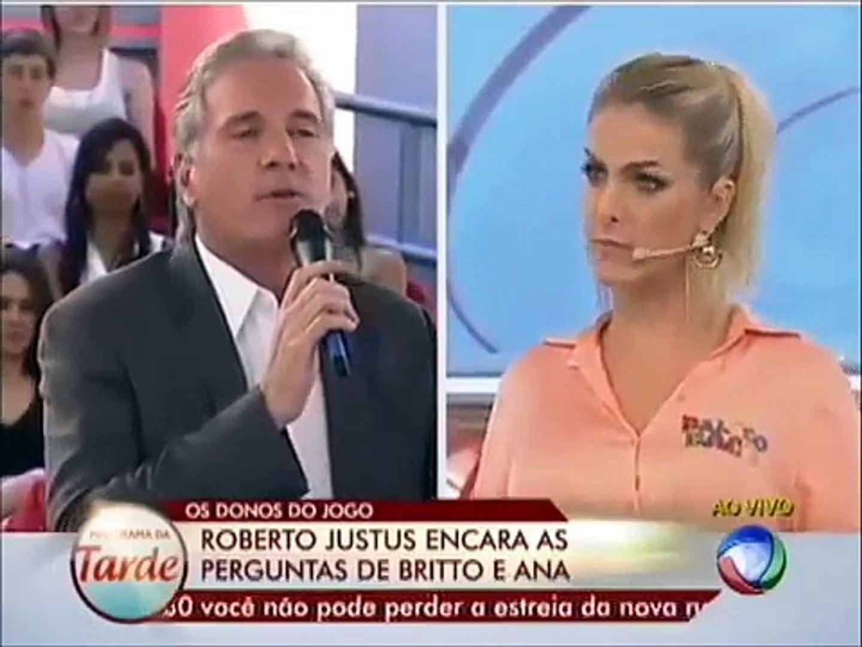 Roberto Justus - Fala De Casamento Com Adriane Galisteu