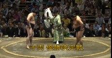 Juryo playoff Day 15 Sumo Natsu Basho May 2014
