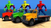 PARTY Spiderman & BROTHERS SPIDERMAN Epic TRUCKS COULEUR drôle Superhero et Comptines Chansons