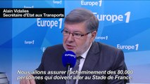 Le gouvernement promet d'acheminer le public au stade de France
