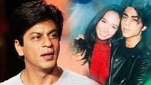 Shahrukh Khan's SHOCKING REACTION On Son Aryan Khan DATING Hot Girls