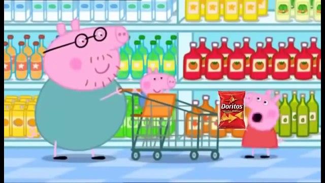 MLG Peppa pig Shopping With Bears