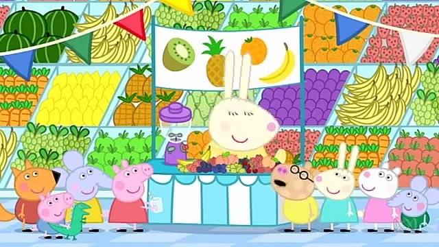 4 45   Fruit - Свинка Пеппа (Peppa Pig) на английском