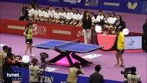 İki Kolu Olmayan Engelli Adamdan Muhteşem Masa Tenisi Performansı