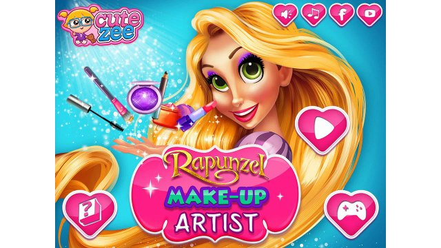 Rapunzel Make up Artist NEW Rapunzel Video For Girls