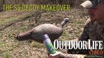 Improve Cheap Turkey Decoys with Glitter Paint
