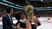 Madison HUBBELL / Zachary DONOHUE - SD kiss and cry - ISU World Championships 2016