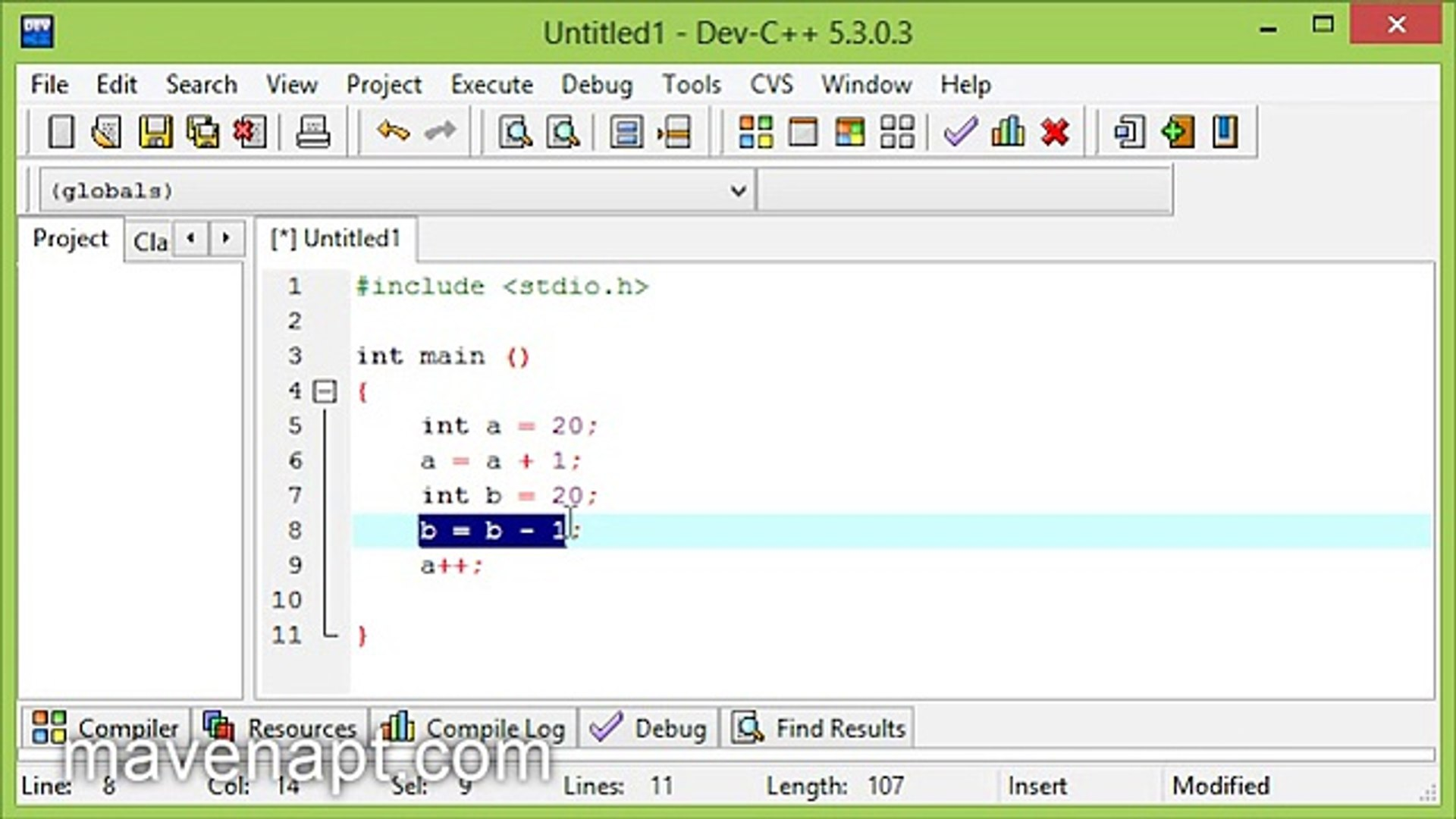 9. C Programming Tutorials in Urdu - Increment and Decrement Operator - Urdu Tutorials