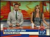 Lady Zuñiga: 47 presos fueron recapturados tras el terremoto