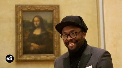 Une journée avec will.i.am au Louvre