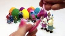 Play Doh Eggs Peppa Pig Toys Peppa Pig Surprise Eggs Peppa Pig and Friends Surprise Eggs Part 5
